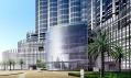 Mrakodrap Burj Dubai na vizualizacích interiéru a exteriéru