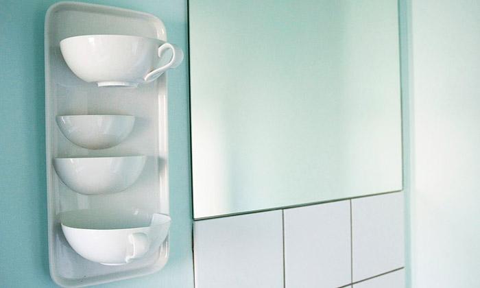Laura Pregger využívá vinteriéru klasický porcelán
