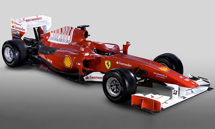 Ferrari ukázalo monopost F10 pro závody Formule1