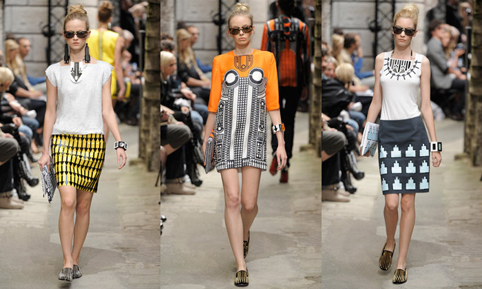 Holly Fulton ukazuje talent v kolekci na léto 2010
