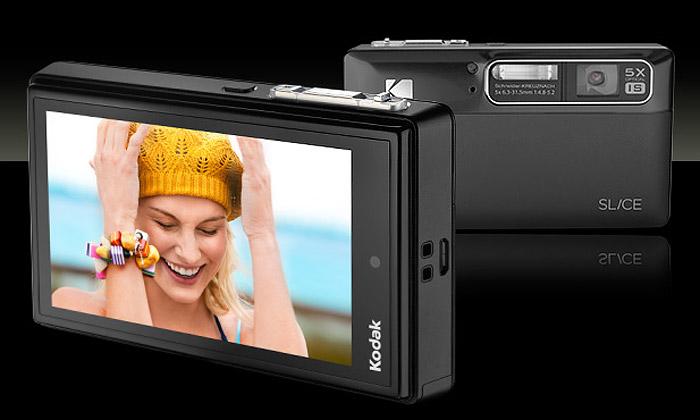 Kodak uvádí tenký plně dotykový kompakt Slice