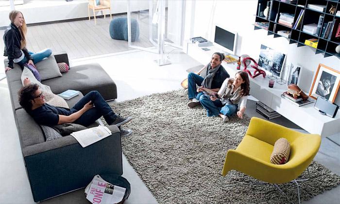 Poliform představil koncept bydlení na80 metrech