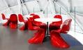 Židle Panton Chair Classic v interiéru