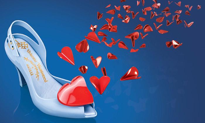 Vivienne Westwood přináší valentýnské střevíčky