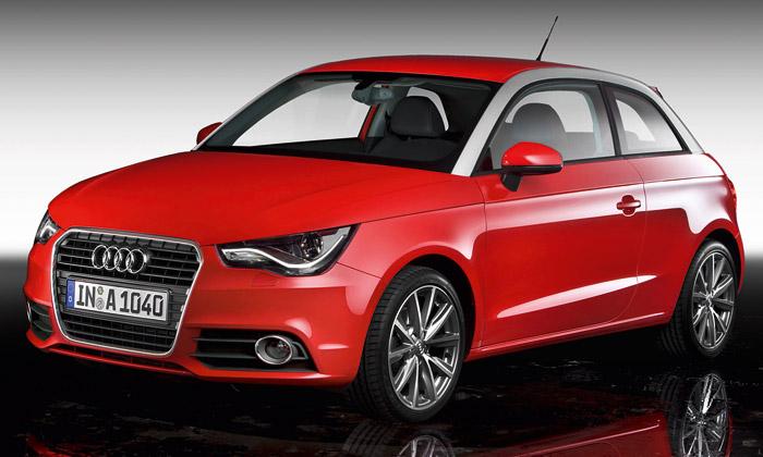 Audi přichází sesvým nejmenším automobilem A1