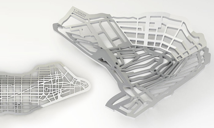 Frederik Roijé navrhl mísy Metrobowl dle metropolí