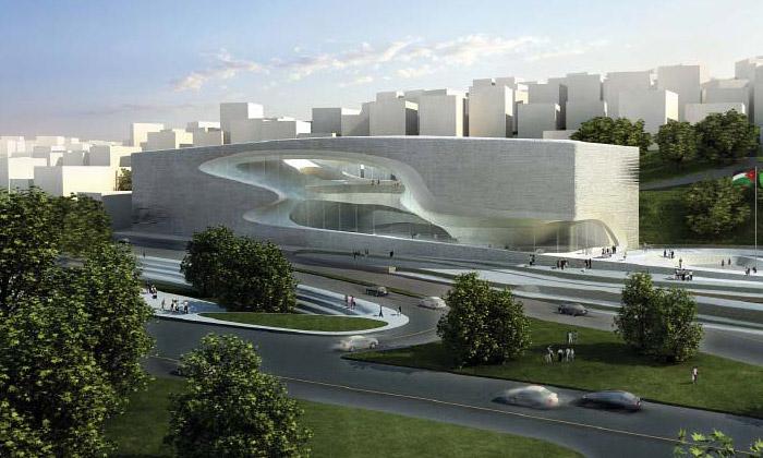 Zaha Hadid navrhla dům kultury pro Jordánsko