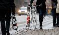 Nové kodaňské bílé elektricky poháněné kolo The Copenhagen Wheel