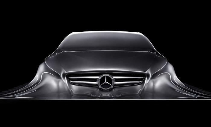 Mercedes-Benz odhalil sochu budoucího kupé CLS