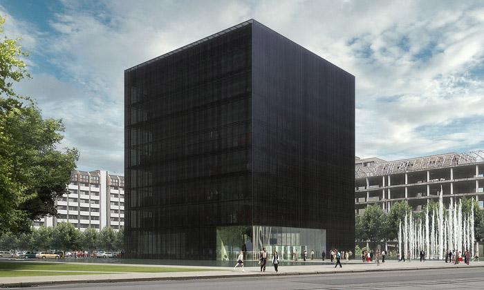 Ostrava postaví jako svou knihovnu Černou kostku