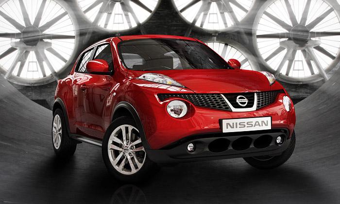 Nissan Juke jesportovní crossover pro volný čas