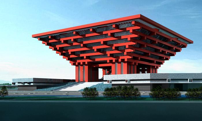 Čína dokončila svůj národní pavilon naExpo 2010