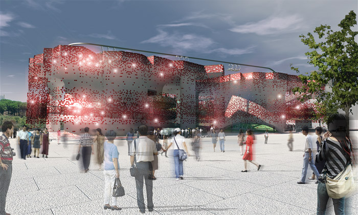 Švýcarský pavilon naExpo 2010 bude mít lanovku
