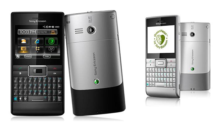 Pracovní mobil Sony Ericsson Aspen má lidské křivky