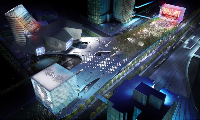 Tchaj-pej postaví centrum určené jen pop music