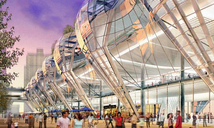 San Francisco postaví gigantický dopravní terminál