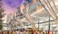 Transbay Transit Center v San Franciscu od Pelli Clarke Pelli Architects