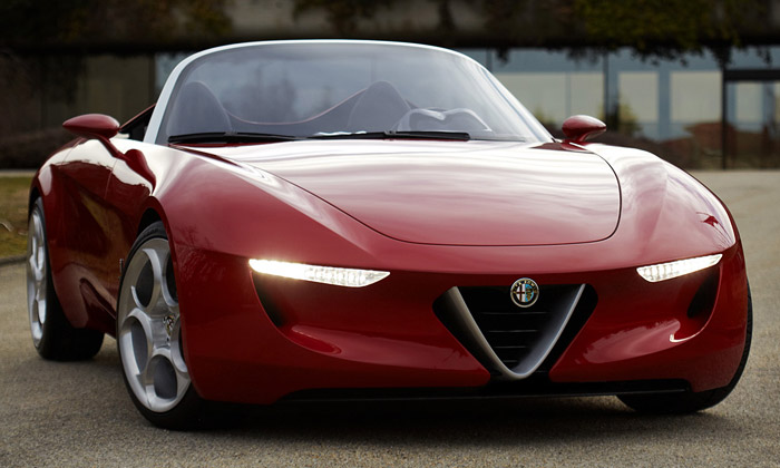 Pininfarina navrhla pro Alfa Romeo vůz 2uettottanta