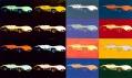 Andy Warhol na vídeňské výstavě Cars v galerii Albertina