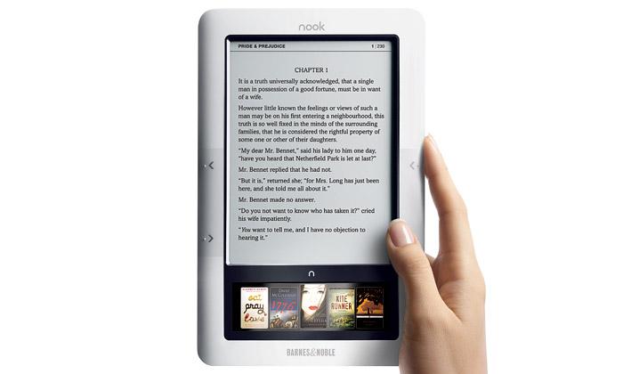 Nová elektronická čtečka knih Nook má dva displeje