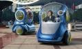 Koncept vozů GM EN-V pro Expo 2010