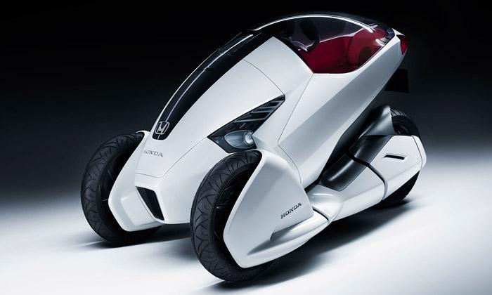 Elektrická tříkolka Honda 3R-C jejen pro jednoho