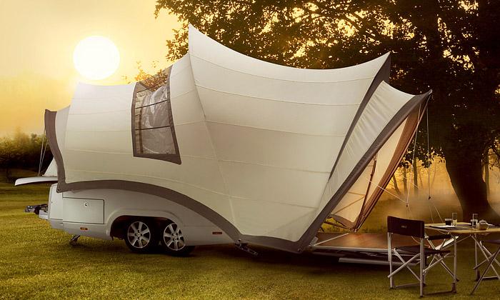 Do prodeje jde karavan Opera inspirován vSydney