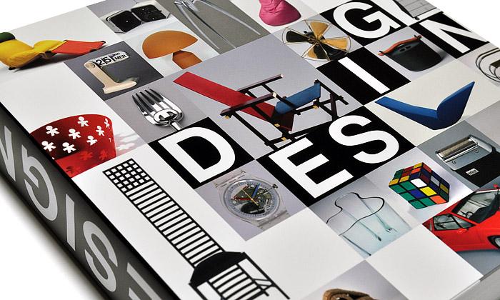Design 20.století shrnut vevelké česky psané knize