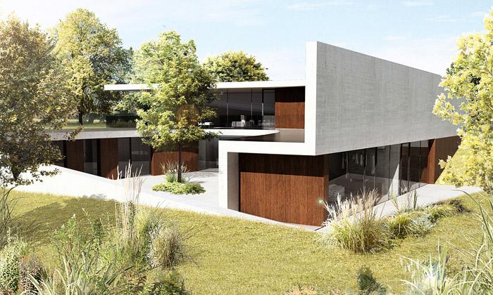 Konopiště Resort odhalilo vily slavných architektů