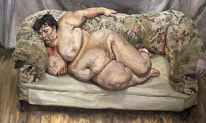 Lucian Freud vystavuje vPaříži brutální realismus