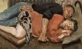 Ukázky z obrazů podepsaných jménem Lucian Freud