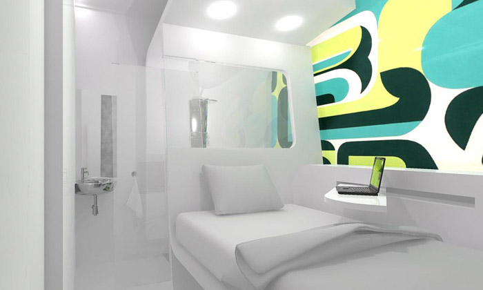 Dream & Fly jsou malé hotely ke snění naletištích