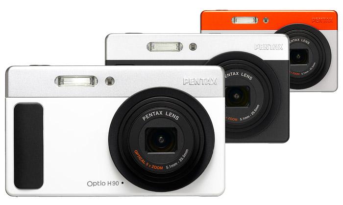 Do prodeje jde stylový retro kompakt Pentax H90