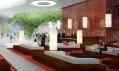 Luxusní mnichovský hotel Schwabinger Tor na vizualizaci od SHL