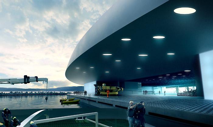Snøhetta chce vNorsku postavit oceánské centrum