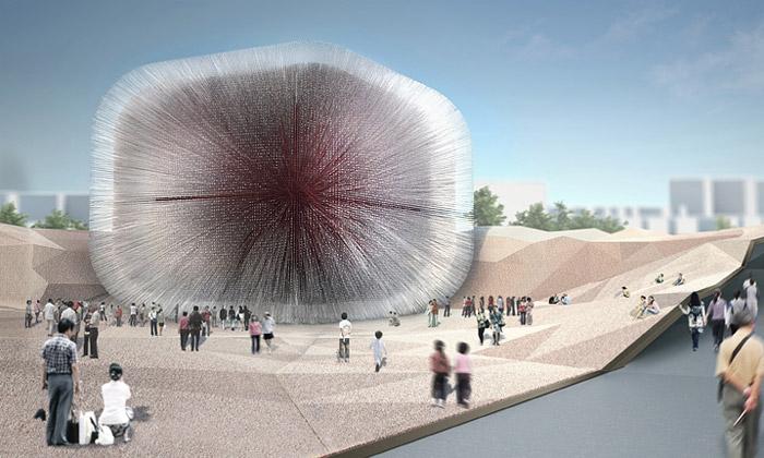 Velká Británie bude mít naExpo 2010 pavilon Ježka