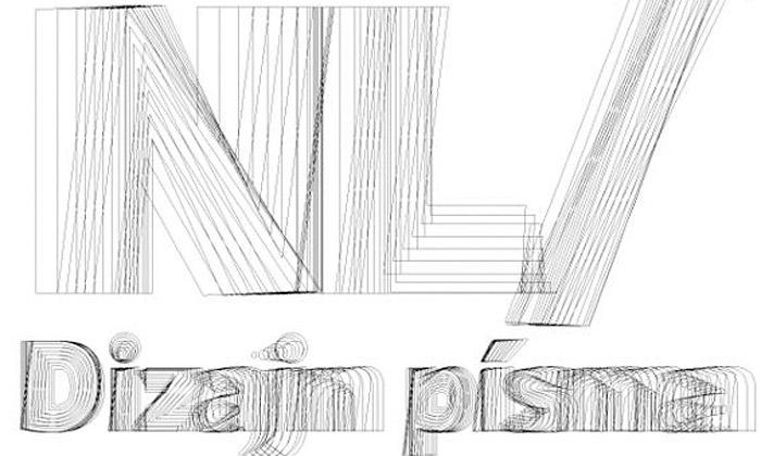 Bratislava vystavuje typografii skrze Dizajn písma