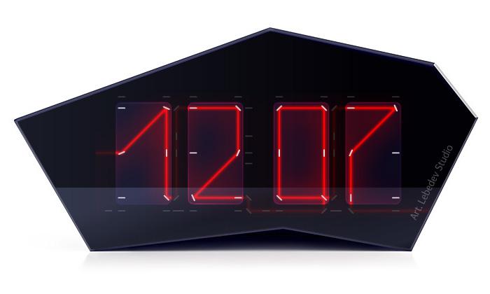 Art Lebedev navrhli laserové hodiny Reflectius