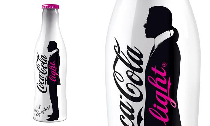 Coca-Cola Light přichází smódní edicí Karl Lagerfeld