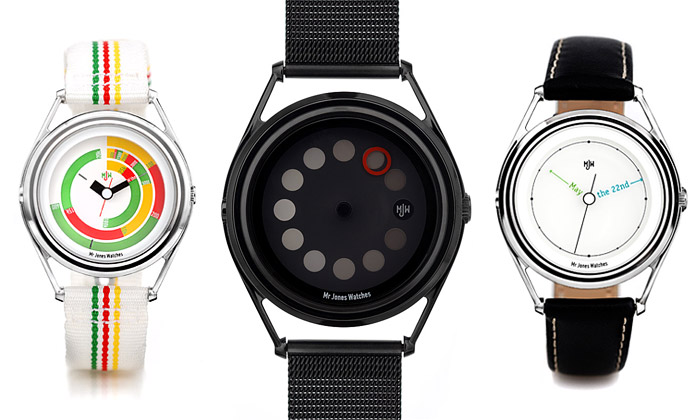 Mr Jones Watches rozšířili sérii nezvyklých hodinek