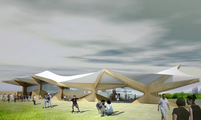 Norský pavilon naExpo 2010 vytvoří pět typů krajin