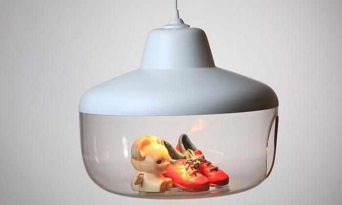 Lampa odChen Karlsson ukrývá vaše Oblíbené věci