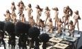 Ukázka z výstavy Umění šachu v galerii DOX