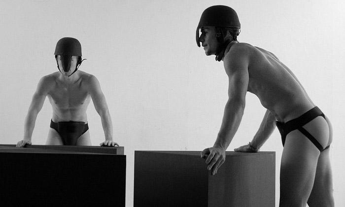 Pohyb alidská těla naWhile Bodies Get Mirrored