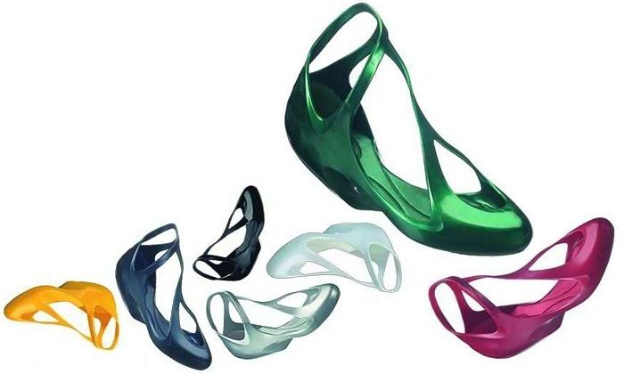 Fluidní boty Melissa odZahy Hadid jsou vprodeji