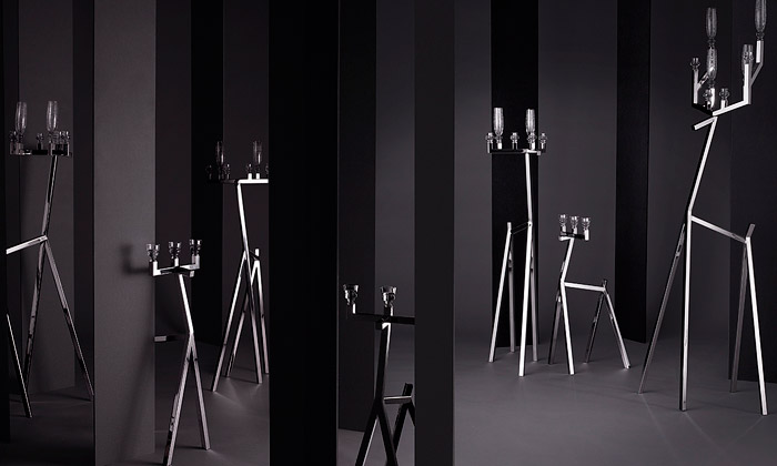 Marcel Wanders navrhl pro Baccarat kolekci skla