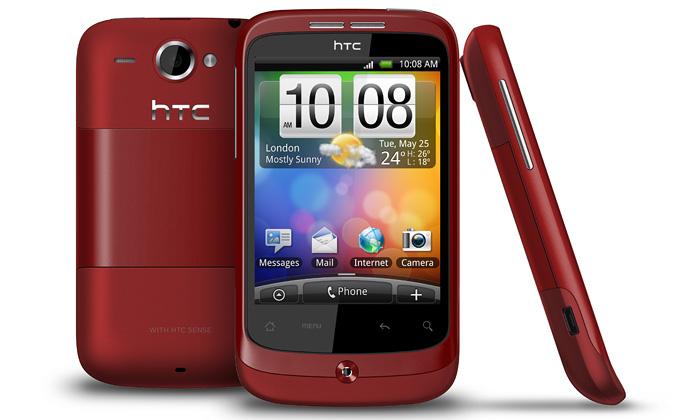HTC přichází smalým Wildfire večtyřech barvách
