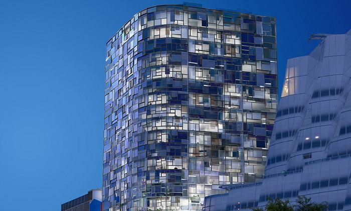 Jean Nouvel dokončil obytnou věž  10011th Avenue