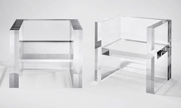 Kartell aYoshioka mají průhledný nábytek Invisibles