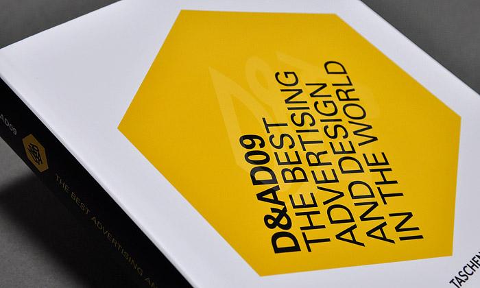 Vychází kniha nej reklamy adesignu podle D&AD09